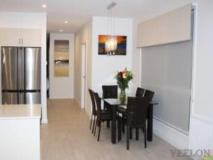 Veelon Melbourne Double roller blinds Dining Living