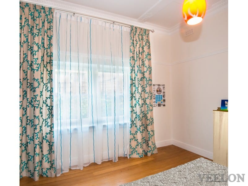 Veelon Melbourne Bedroom Living Kid's room Pinch pleat curtains sheer grey ceiling fix