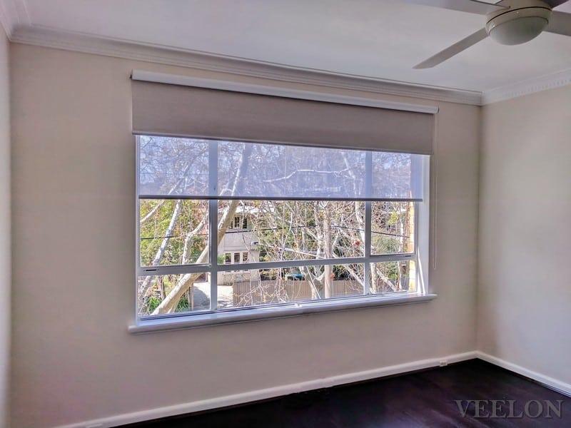 Veelon Melbourne Double roller blinds Dining Living Bedroom