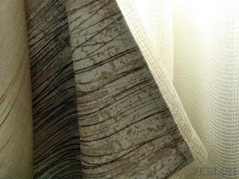 Veelon Melbourne Bedroom Living Triple weave s-fold curtains sheer block out dim out wave fold grey beige ceiling fix