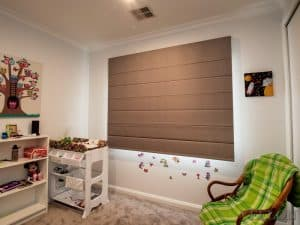 Veelon Melbourne Roman roller blind kid's bedroom
