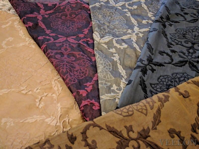 Veelon Melbourne Bedroom curtains blockout olive pinch pleat
