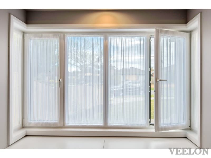 Veelon Melbourne Bedroom curtains sheer PVC window