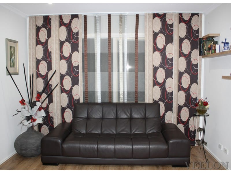 Veelon Melbourne Panel curtains Japanese style living dining