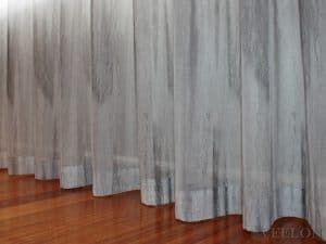 Veelon Melbourne Bedroom Living pencil pleat curtains sheer grey wall fix linen look