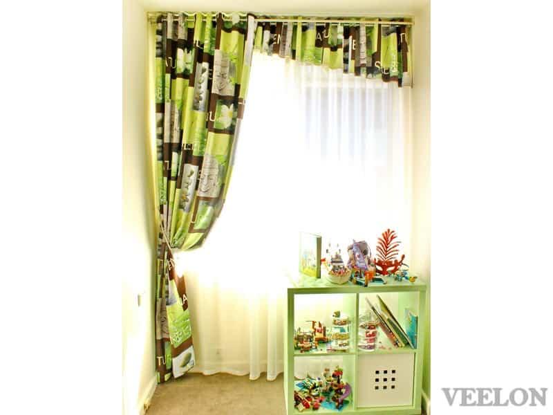Veelon Melbourne Sheer Blockout dimount Triple weave Eyelet curtains Kids girl Bedroom