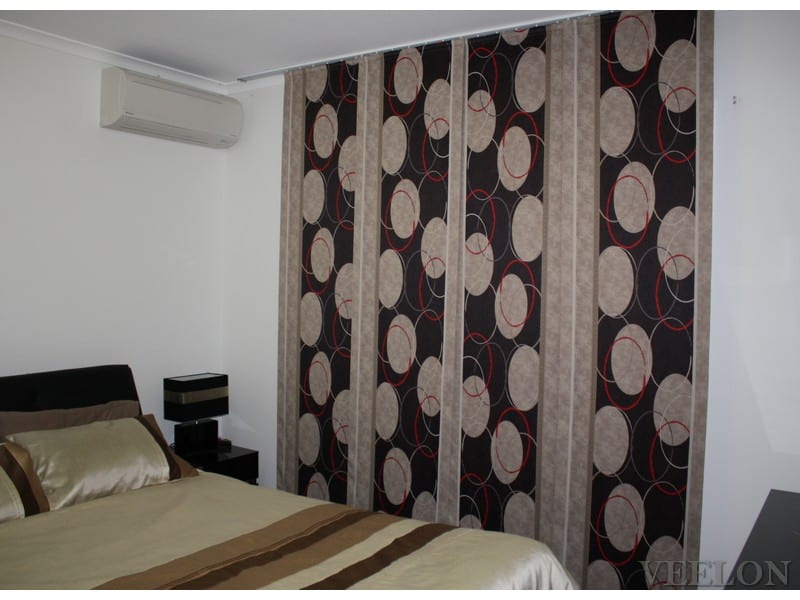 Veelon Melbourne Panel curtains Japanese style bedroom