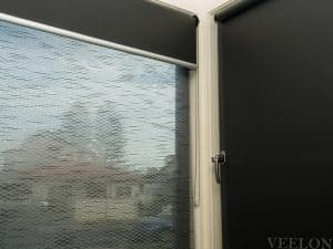 Veelon Melbourne Double roller blinds office