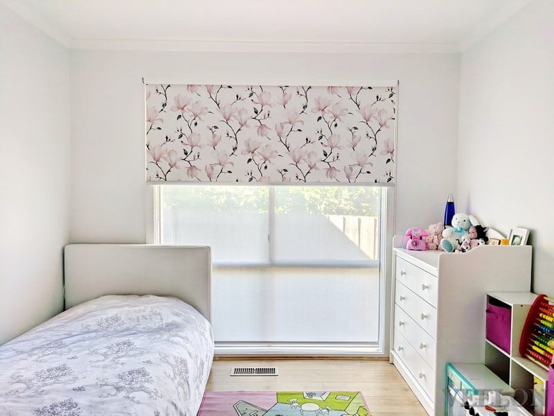 Veelon Melbourne roller blinds girl's room bedroom kids