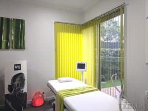 Veelon Melbourne vertical blind lime