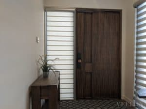 Veelon Melbourne double vision blind pelmet